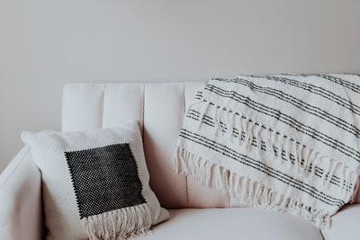 ベッド代わりのソファー