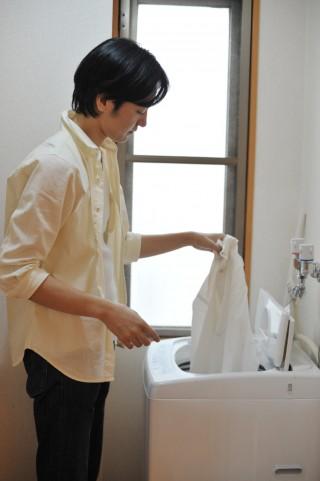 乾燥機付き全自動洗濯機
