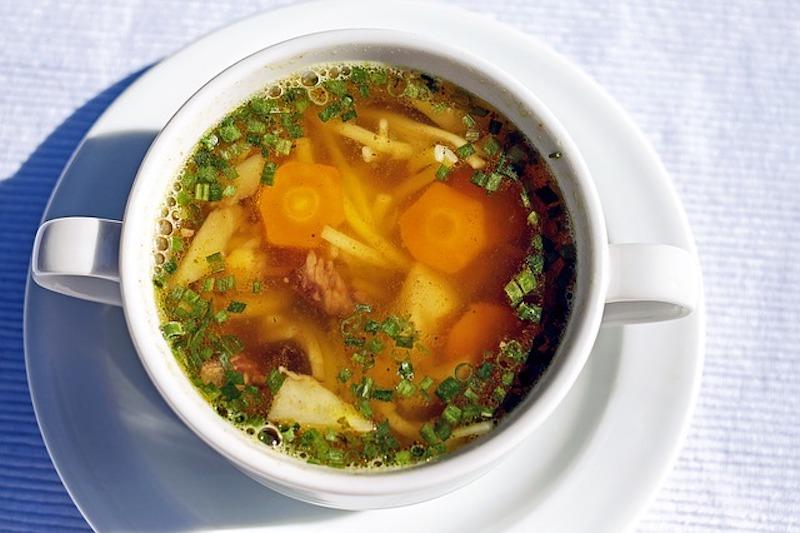 スープの解凍