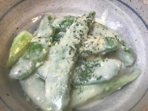 温野菜 クリームソース