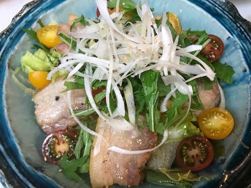 雲白肉(中華風茹で豚)
