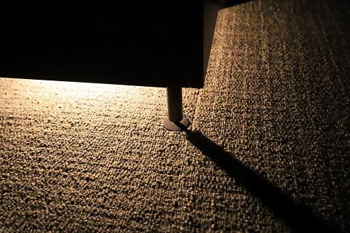 棚下やベッド下にテープライト