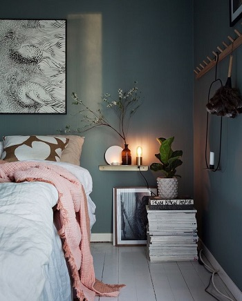 粋なベッドルーム1
