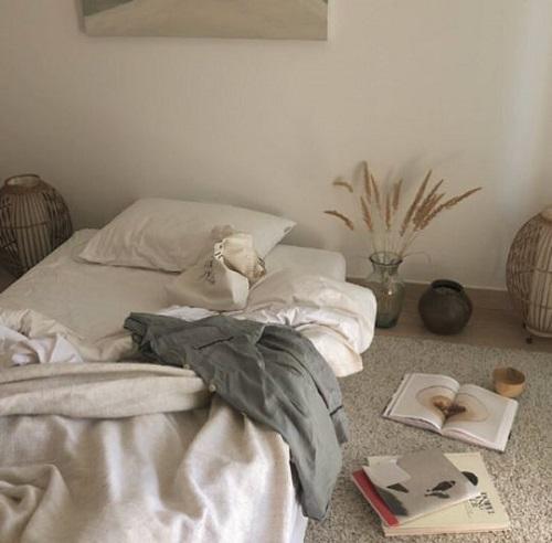リラックスできる快適睡眠空間